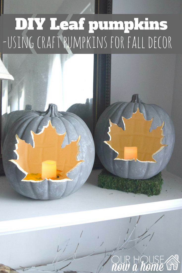 Diy pumpkin craft simple project for fall our house now