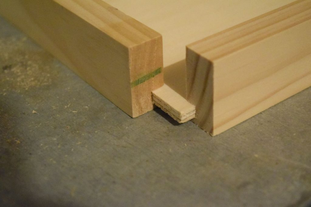 making-flush-corner-with-wood