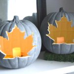 DIY pumpkin craft, simple project for fall