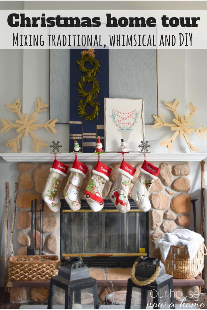 Blogger Christmas home tour