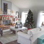 Christmas home tour, combining DIY, traditional and whimsical