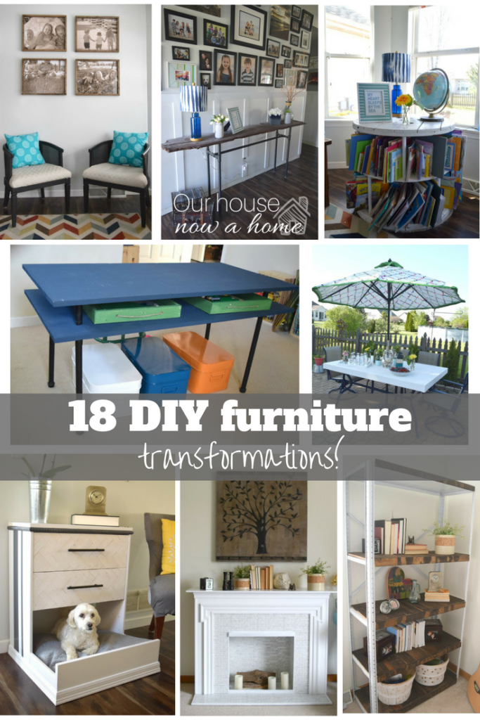 18 amazing DIY furniture transformations!