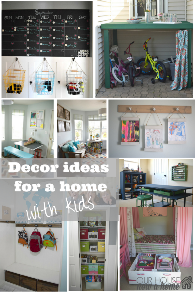 ideas for a home with kids