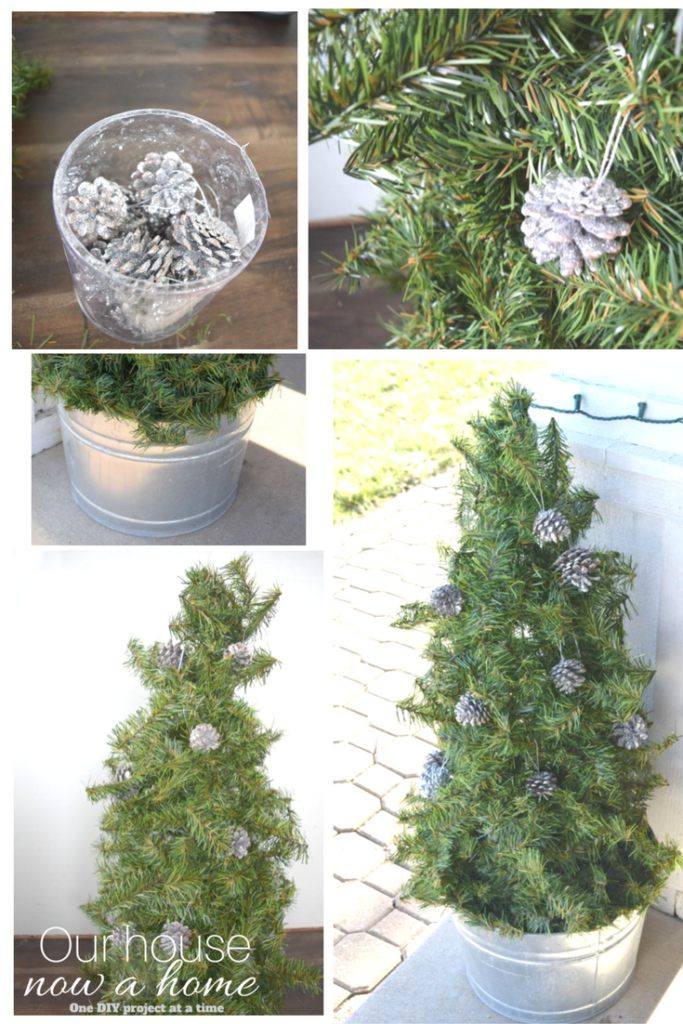 Christmas craft upcycle