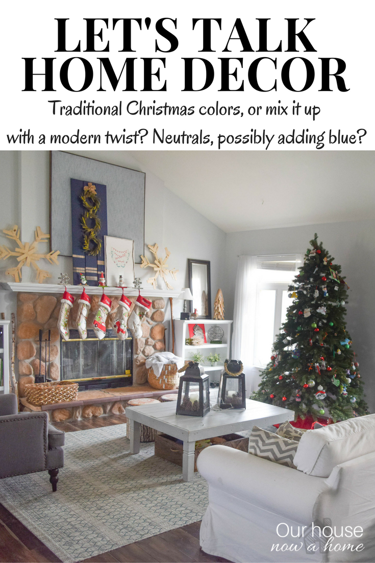 lets talk home ecor - Neutral Christmas Decor