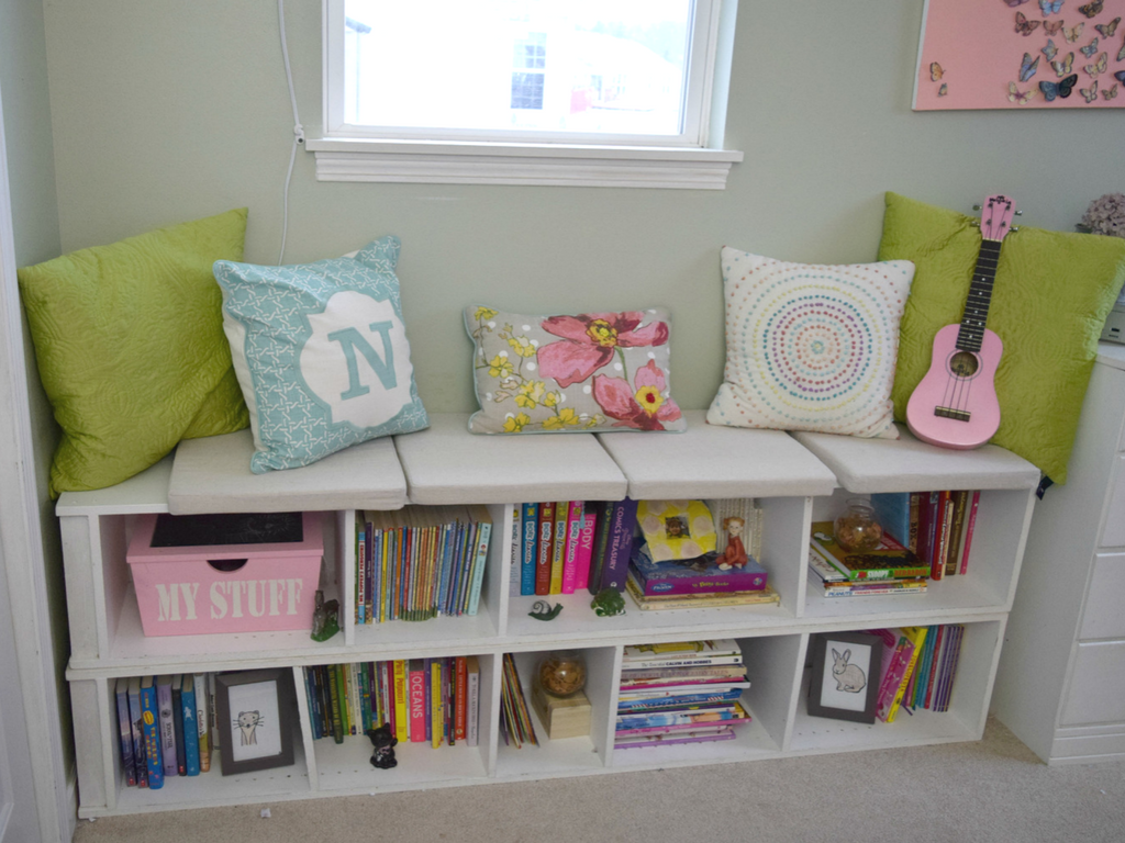 simple-bookshelf-and-window-seat-for-girl-bedroom
