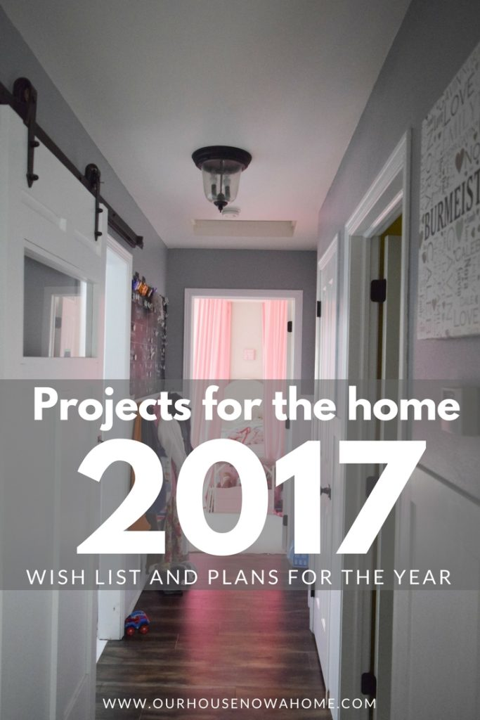 home improvement projects for 2017