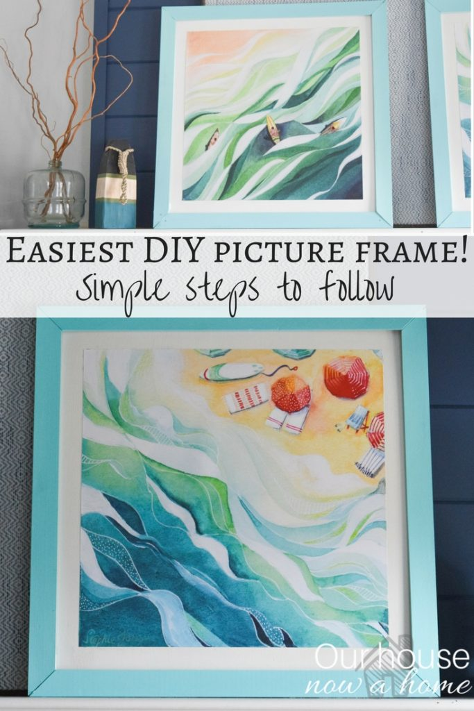 Easiest DIY picture frame!