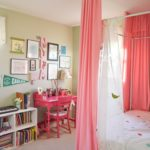 Bright & colorful girl bedroom- small changes with a big impact