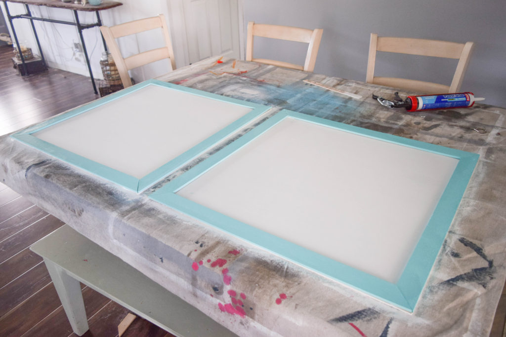 How to create DIY wood picture frame for large pictures
