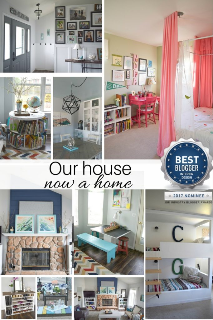 Our house now a home interior design award