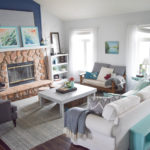 Spring home tour – a coastal and bold style