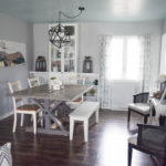 Simple dining room makeover – low cost and easy updates