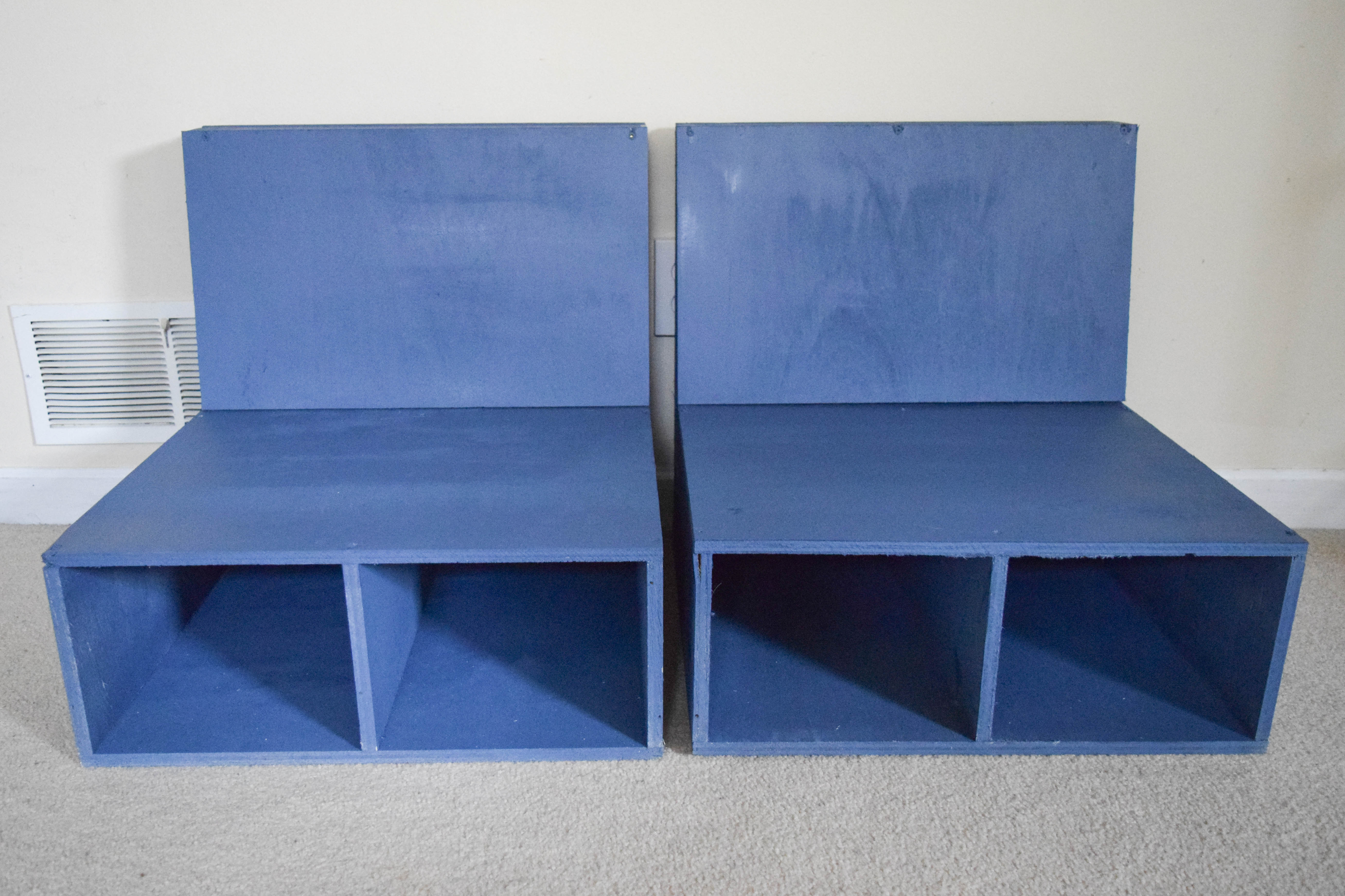 Easy steps to make DIY plywood kids chairs with storage • Our