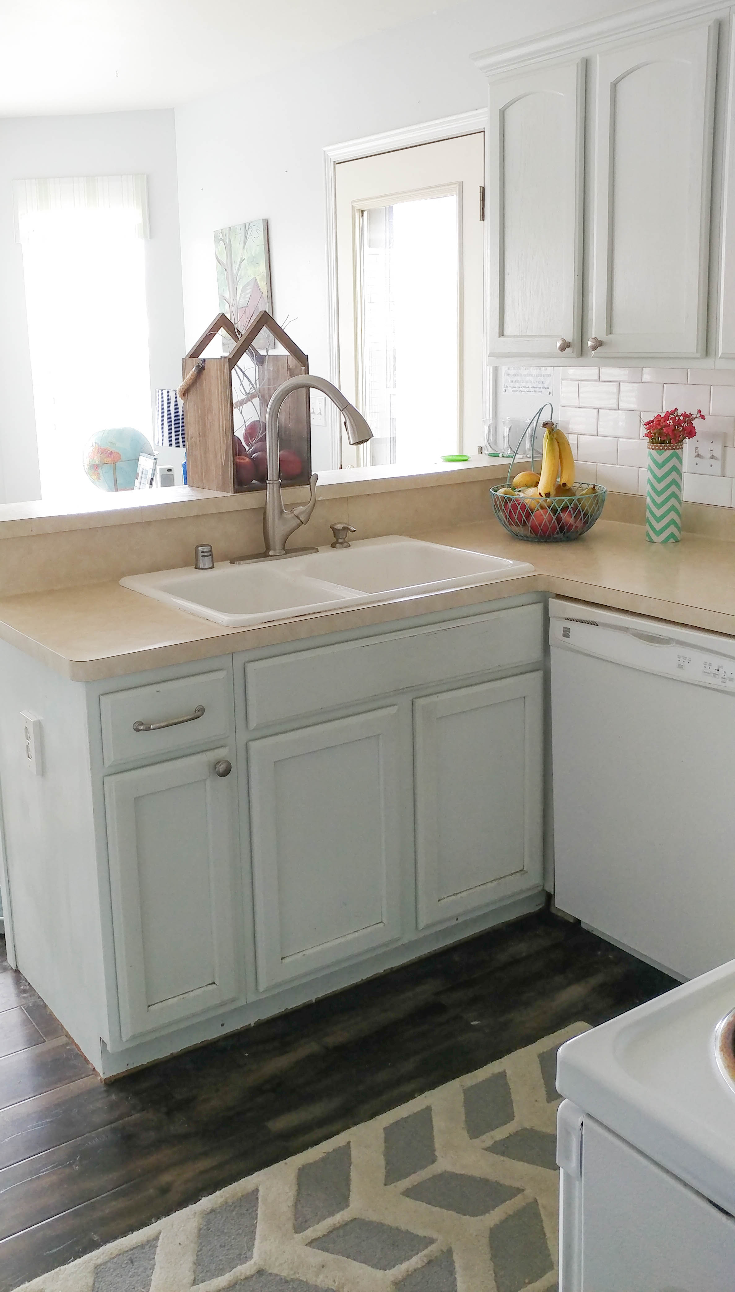 For A Kitchen Bathroom And Kitchen Renovations You Can Afford O Our House Now A Home