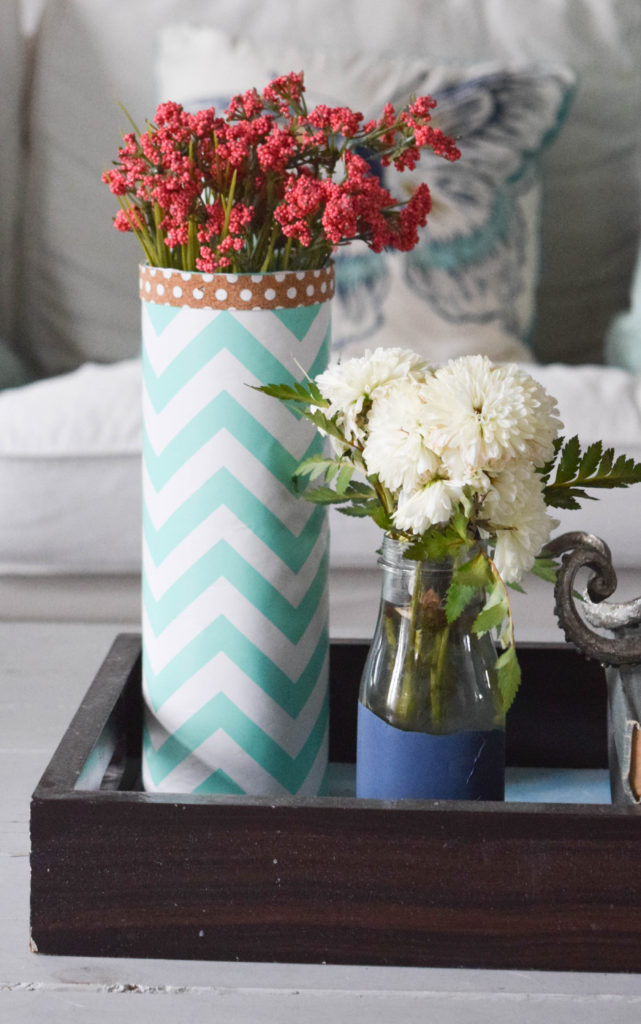 spring decor with flowers