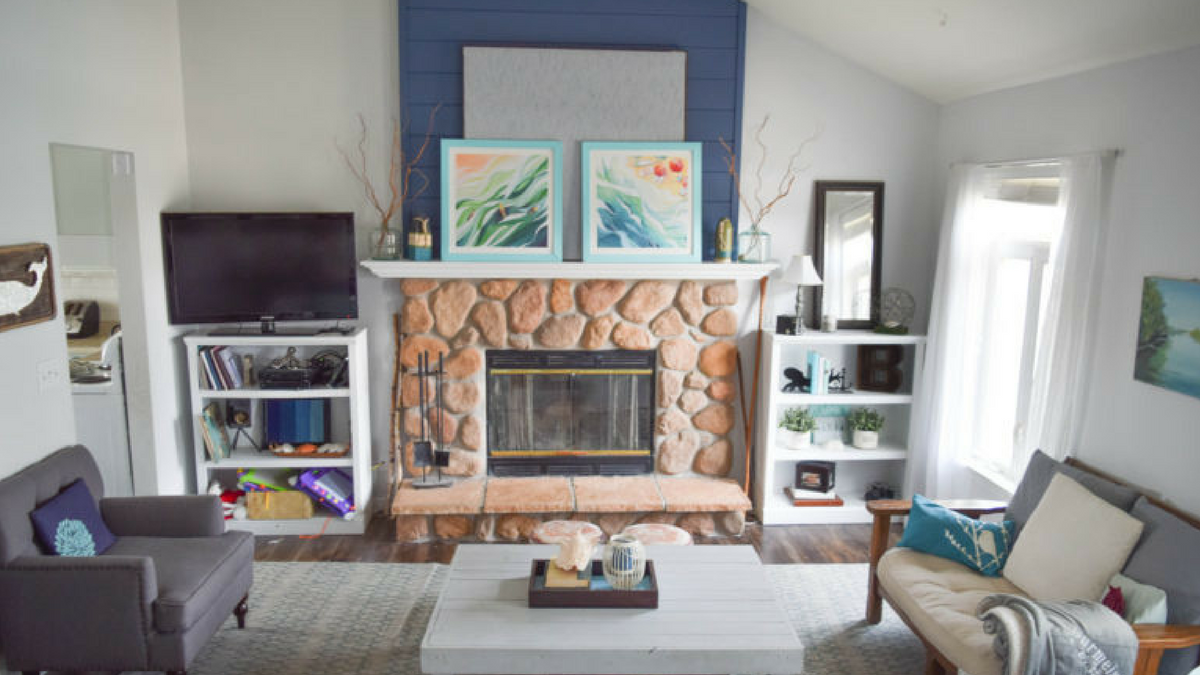 How to create a shiplap feature wall