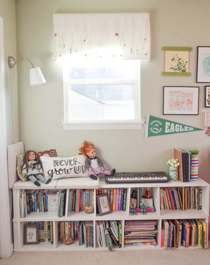 DIY simple window seat project