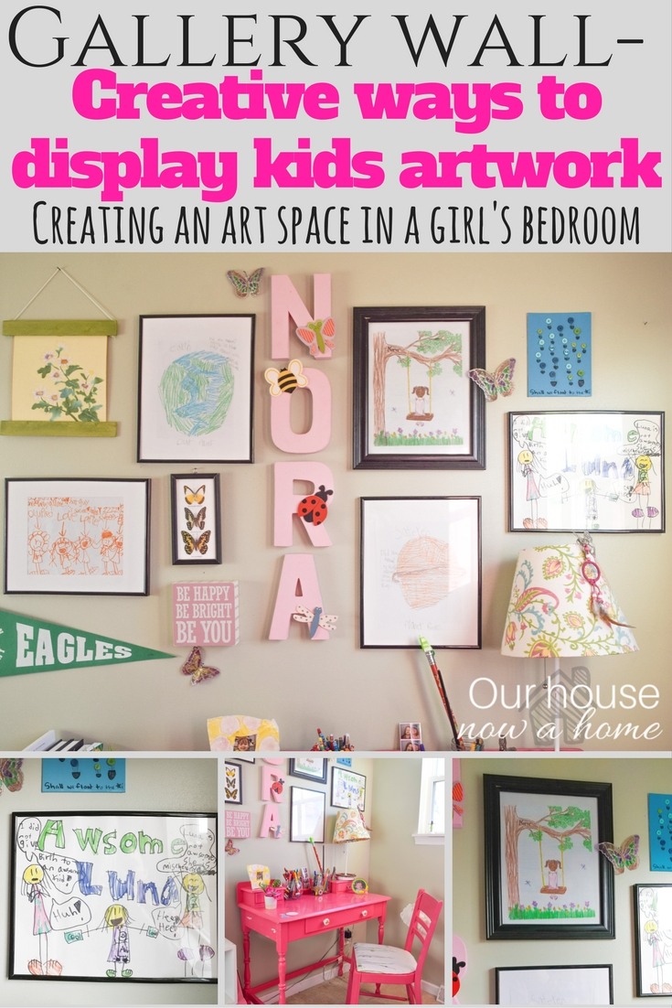 how to personalize a gallery wall for a kid u0027s space u2022 our house