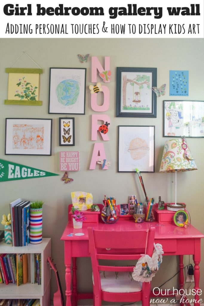 How to add personal touches to a kids bedroom and still have it be stylish and decorated
