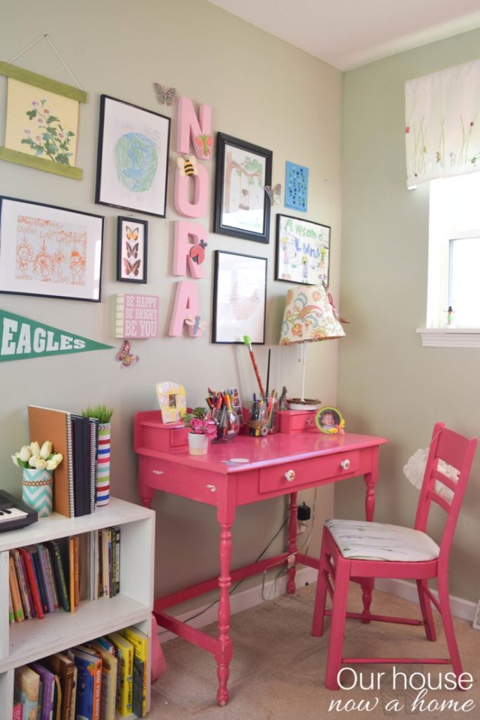 How to create a homework area in a child's bedroom
