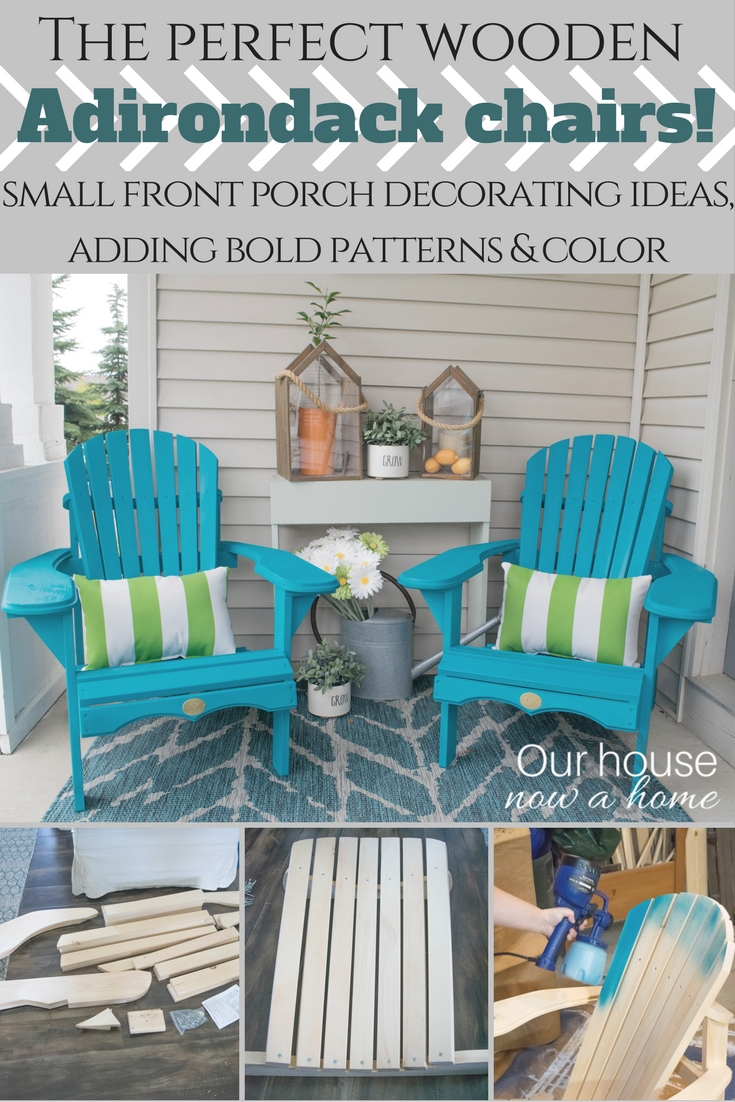 Front Porch Decorating Ideas With The Perfect Adirondack Chairs