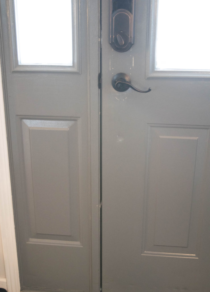 door sealed with no light coming through