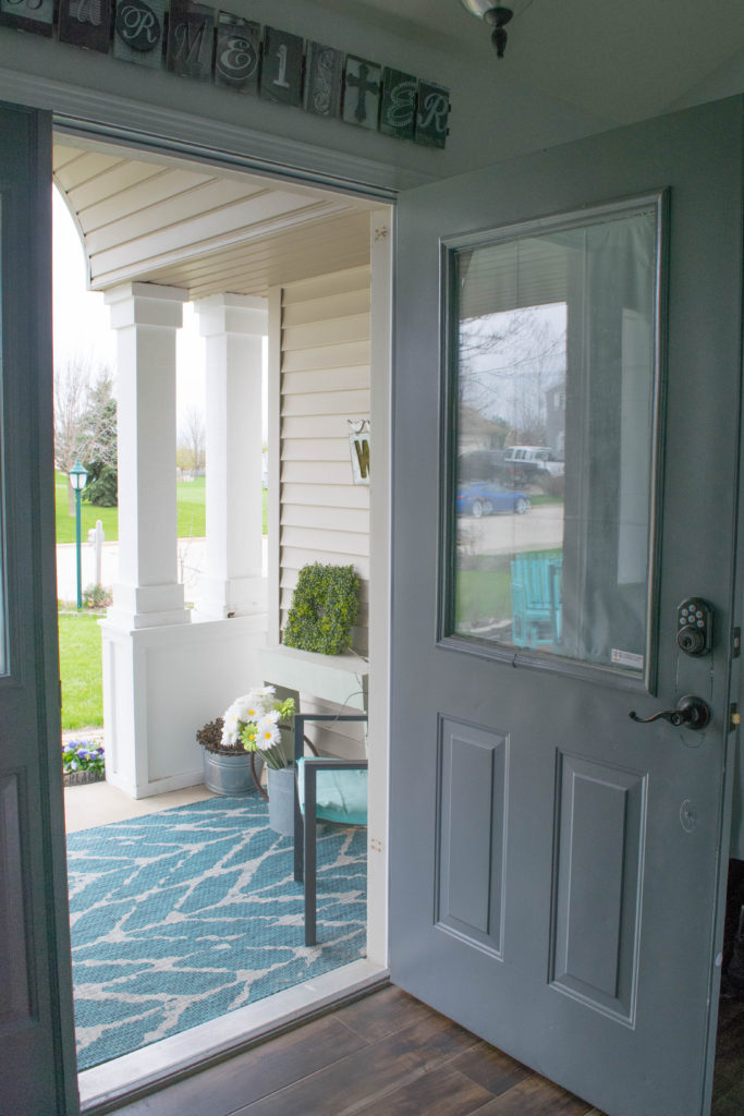 how to make your front door be more energy efficient