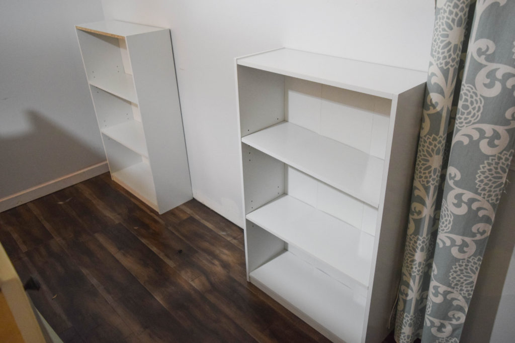 how to put together bookshelf
