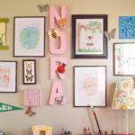 How to personalize a gallery wall for a kid's space