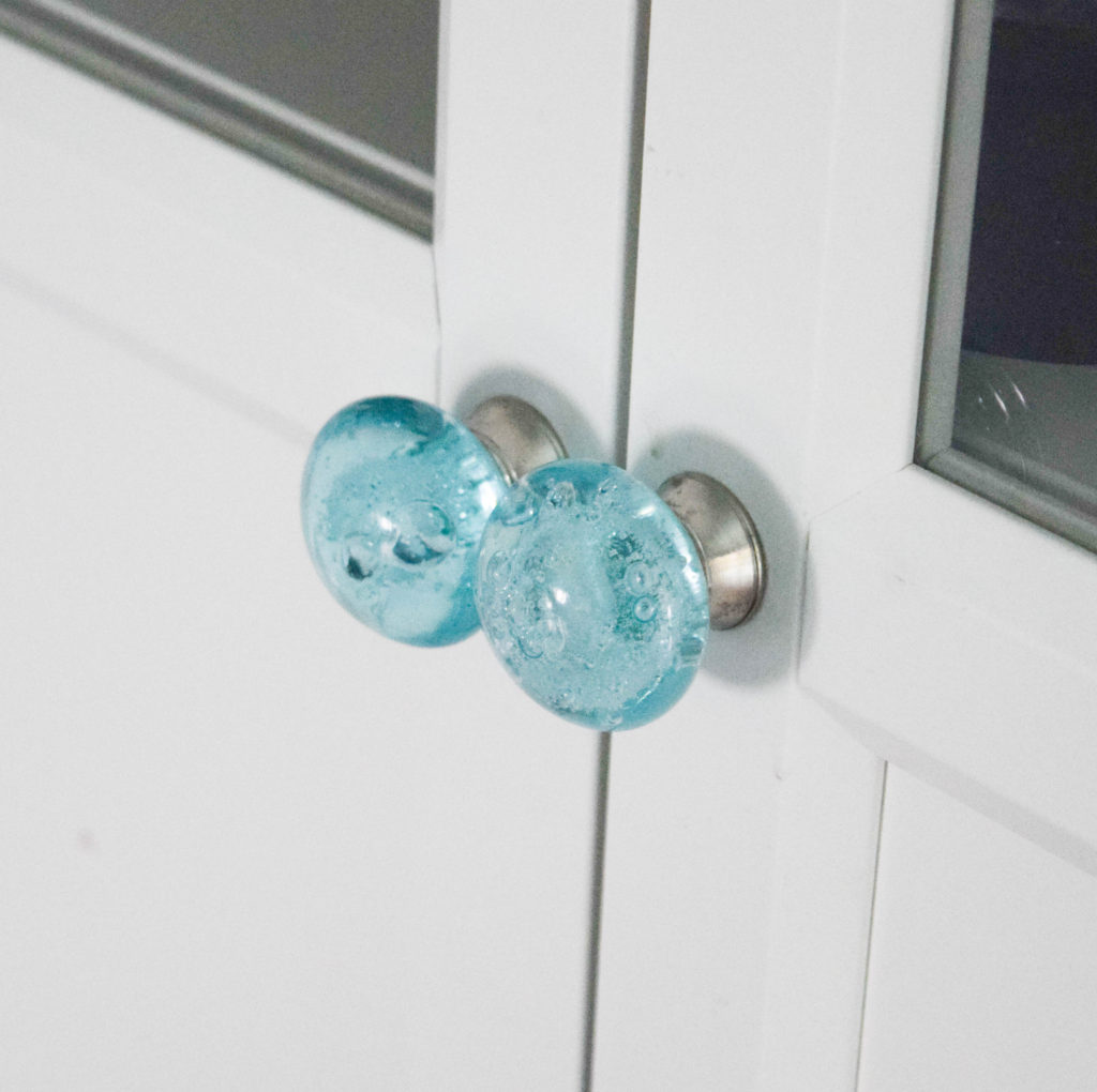 teal door hardware