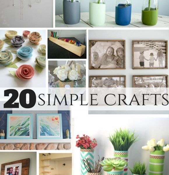 20 simple crafts