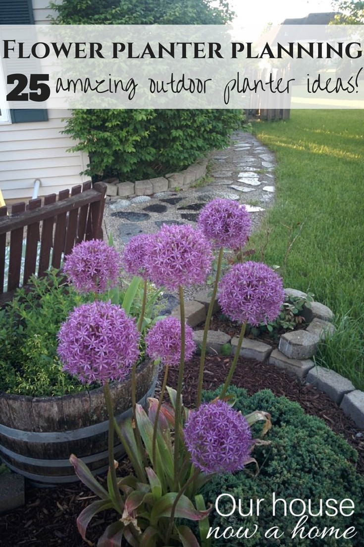 25 amazing outdoor flower planter ideas simple diy projects to get your outdoor space summer - Planter Ideas