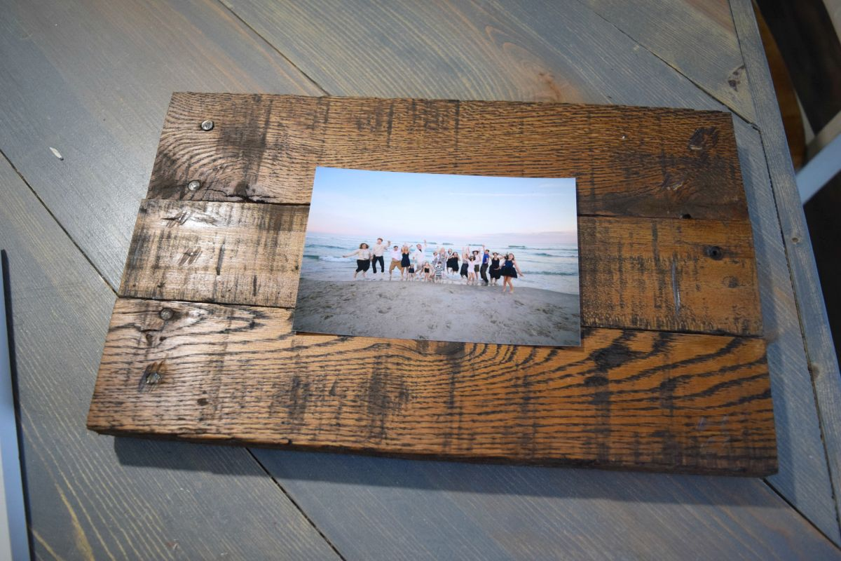 Easy to make picture frame and wall display, bringing ...