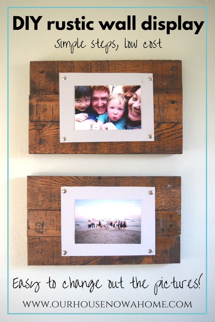 Diy Wall Art Using Newspaper : Easy to make picture frame and wall display bringing