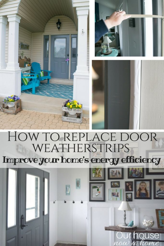How to replace door weather strips with BetterDoor. Improve your homes energy efficiency with this simple home update.