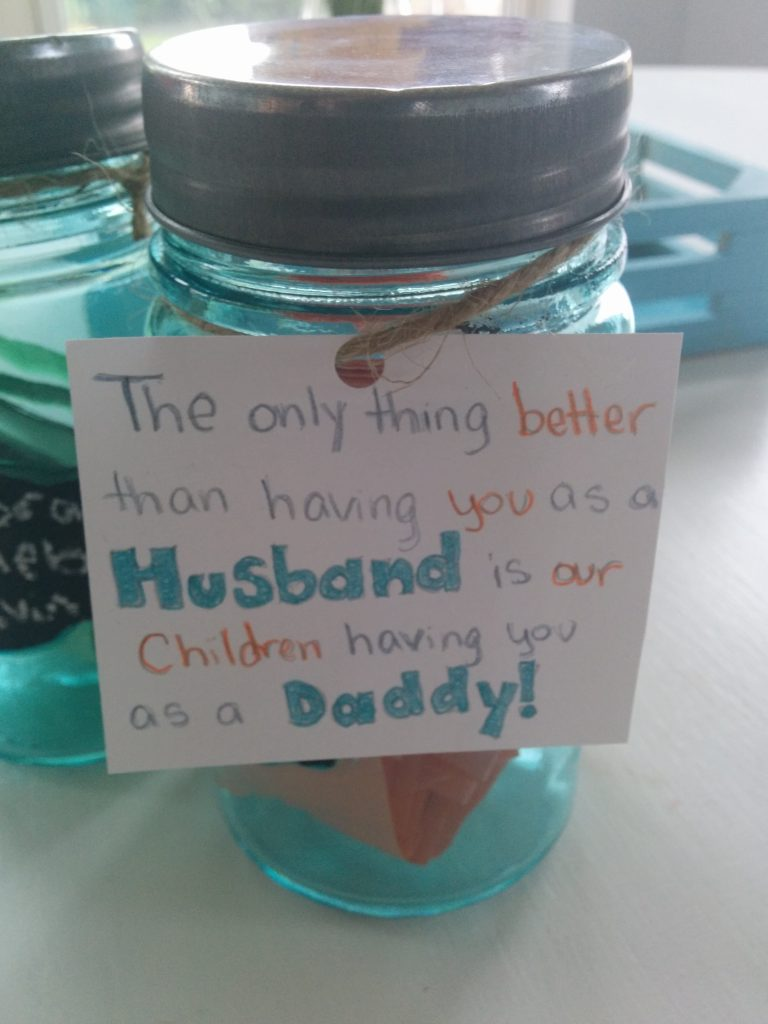 DIY kids craft for Fathers day