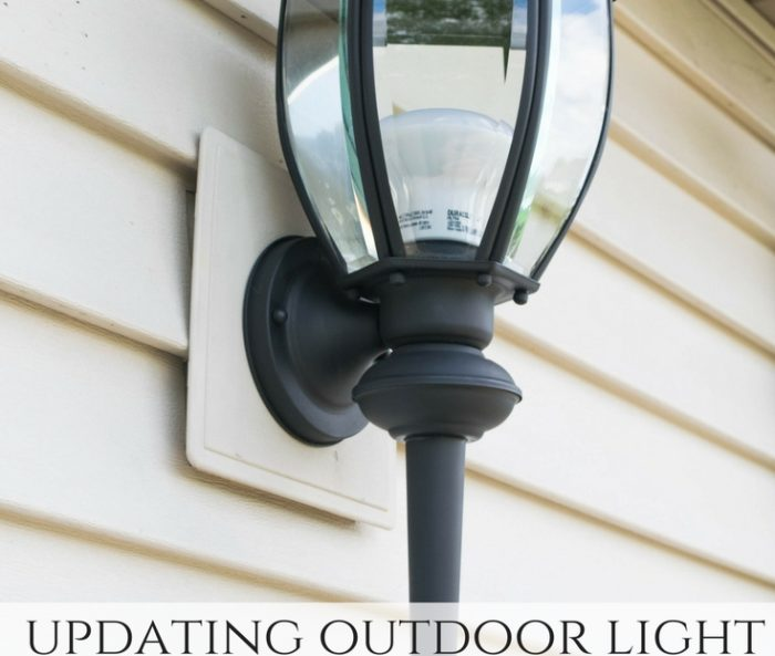 Refreshing the outdoor space – DIY lighting redo