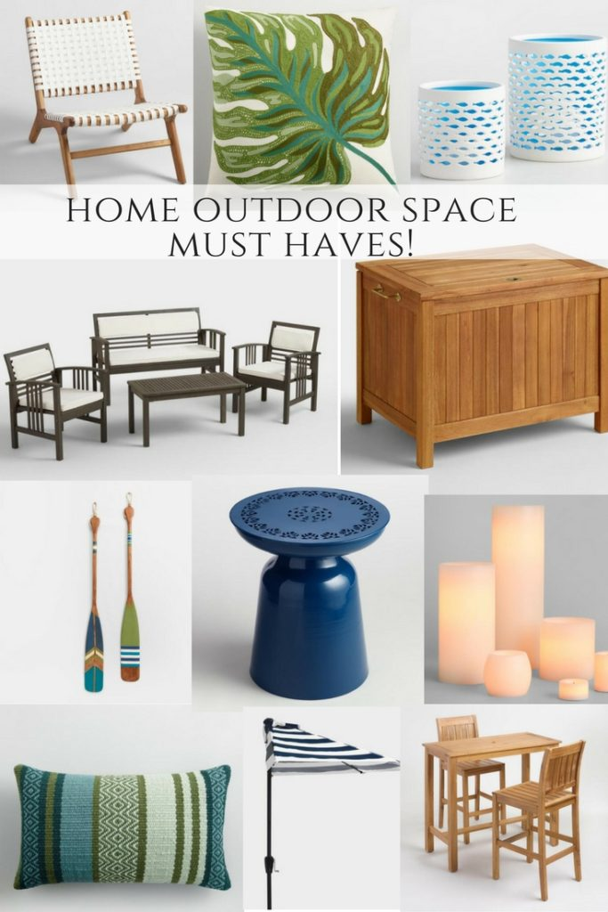 outdoor entertaining must haves!