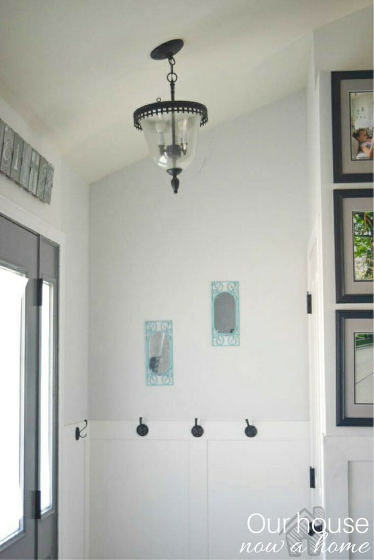 Entryway tour and ideas - Room By Room series week 1 • Our House Now ...