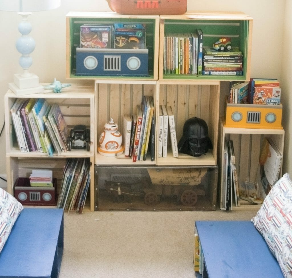 bookshelf DIY ideas