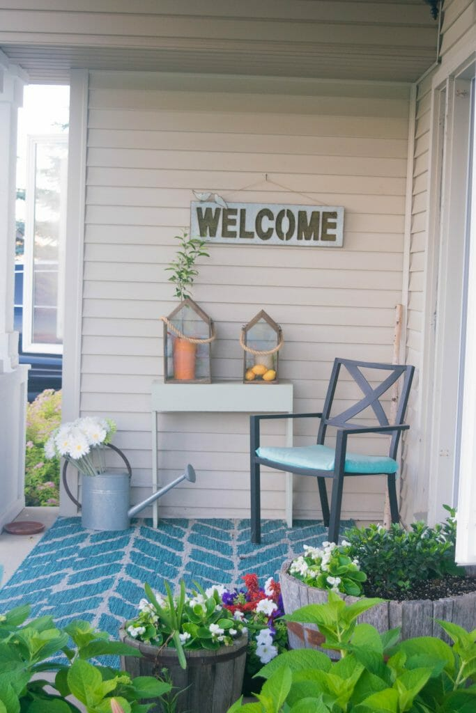 Utilizing The Outdoor Space Around Our Home, Revamping The Front Porch And  Any Old Furniture