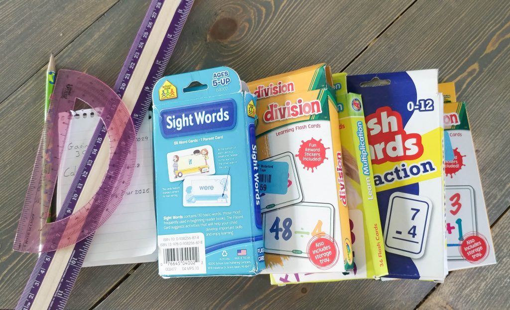 homeschool supplies storage ideas