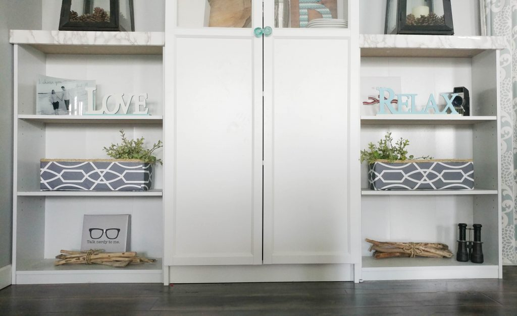 how to hide storage in living space