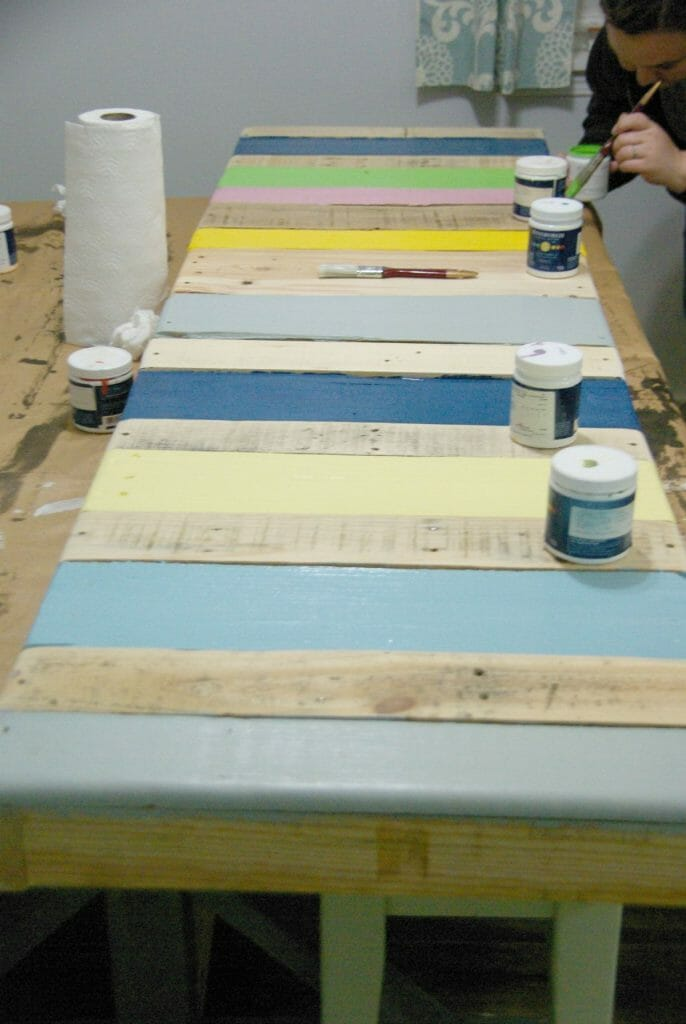 how-to-paint-the-diy-bench