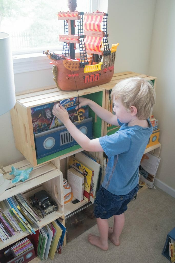 kids reading nook ideas