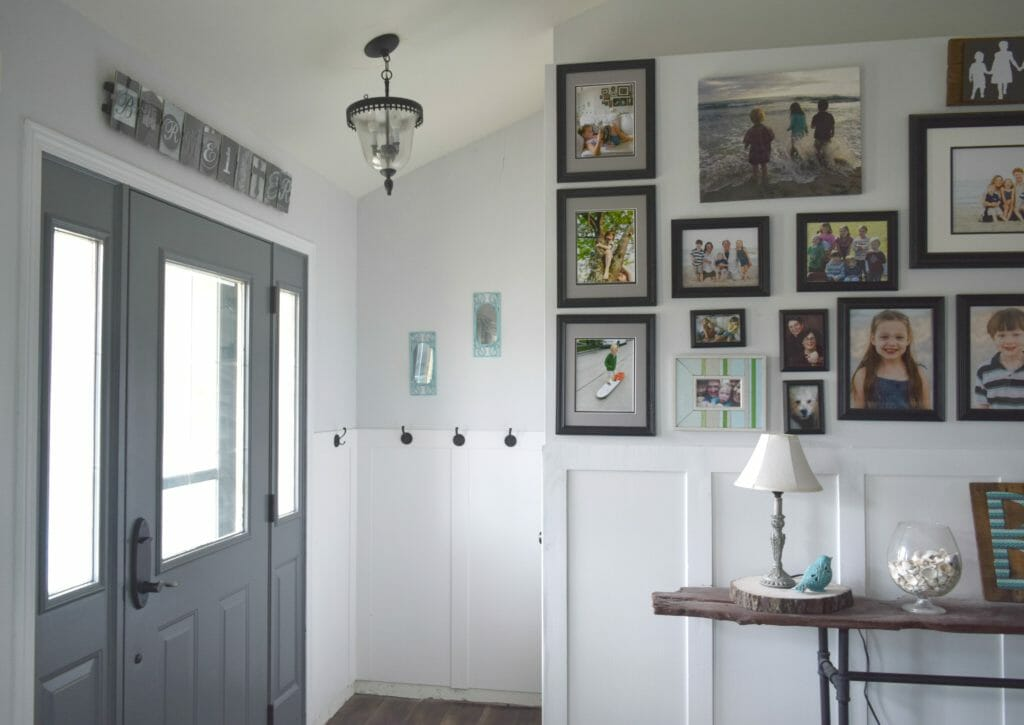 Small House No Foyer : Entryway tour and ideas room by series week our