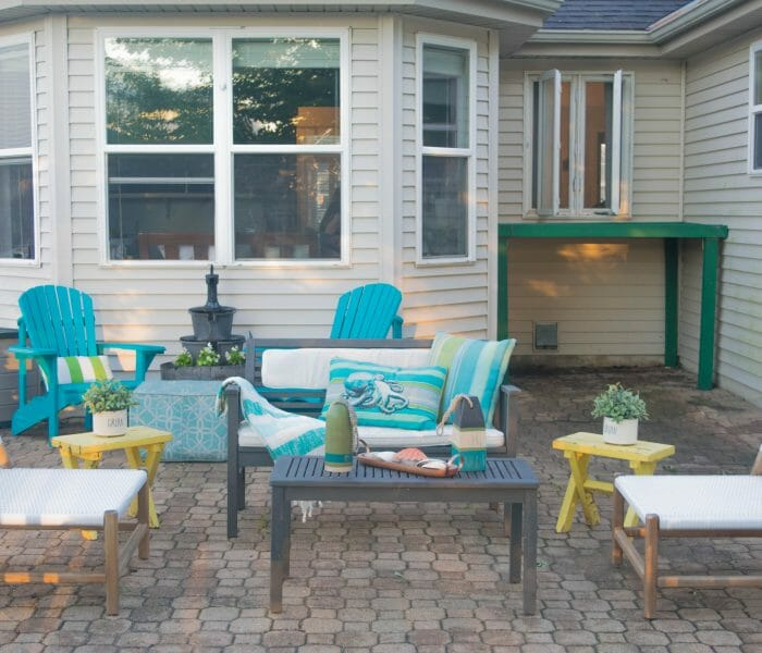 Outdoor living and garden home tour