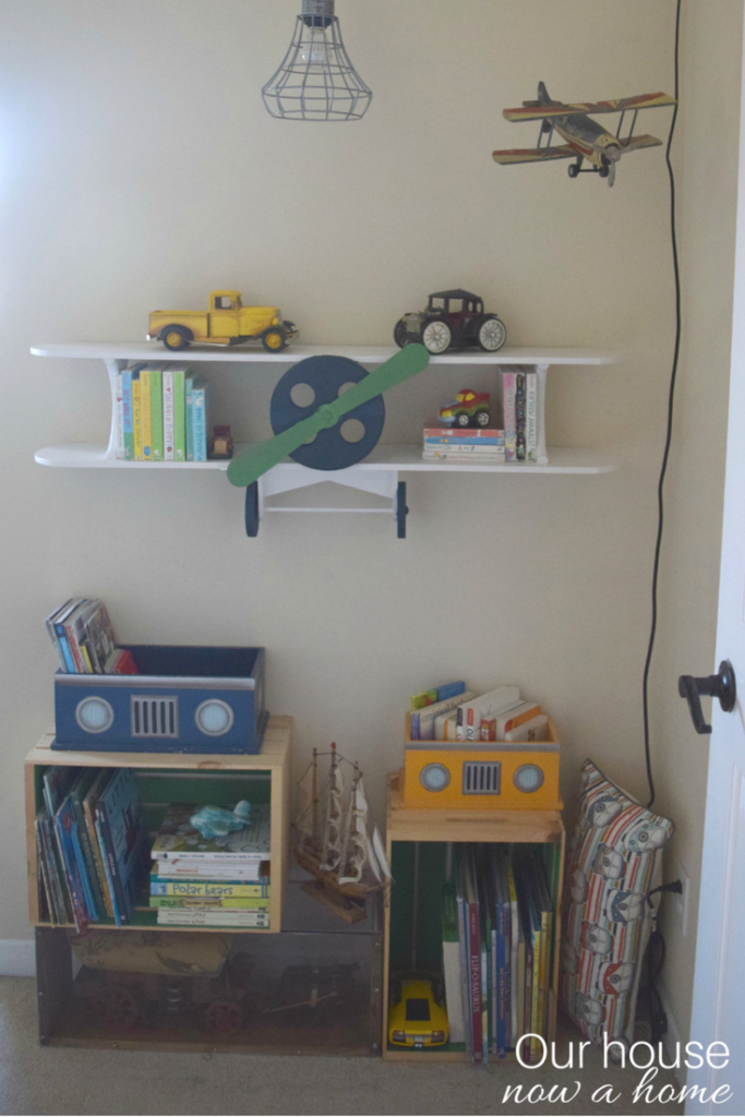 Ways To Decorate Kids Room With Books