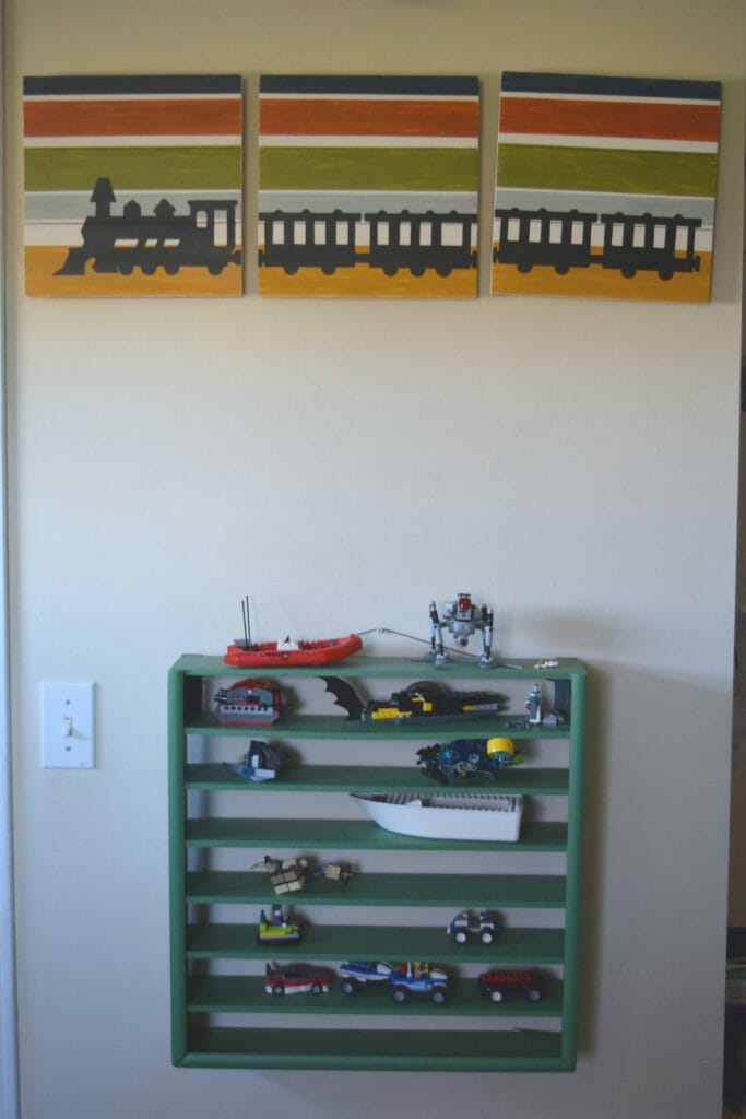 LEGO storage wall piece